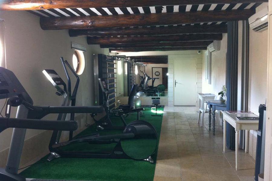 Auberge de Cassagne - Salle de Fitness