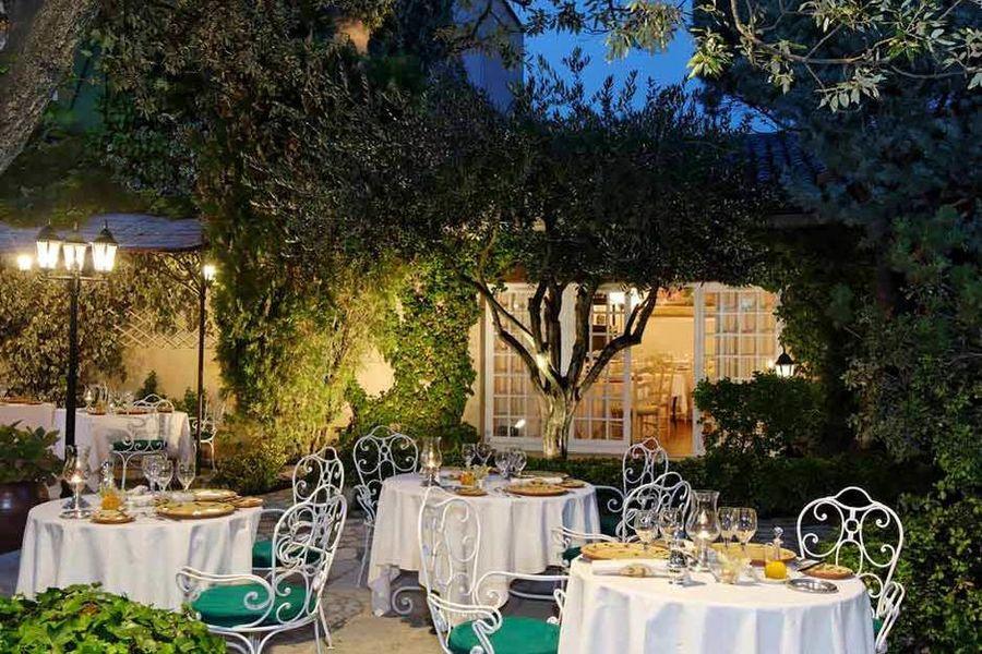 Auberge de Cassagne - Terrasse - Restaurant