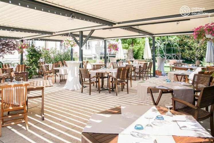 Château de la Commanderie - Terrasse - Restaurant