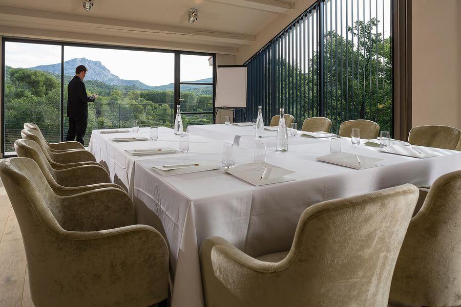 Les Lodges Sainte-Victoire  - Salle de réunion