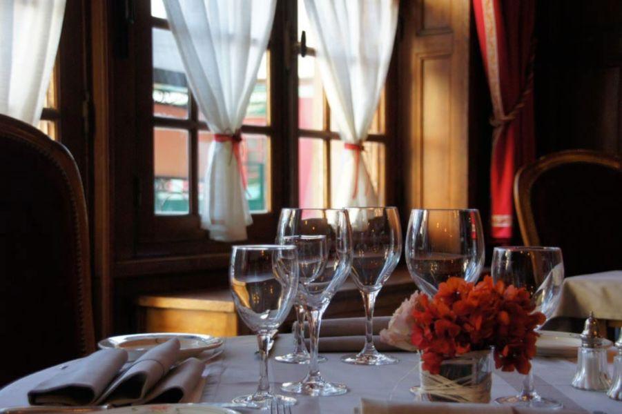 Relais des Trois Châteaux - Salle de restaurant