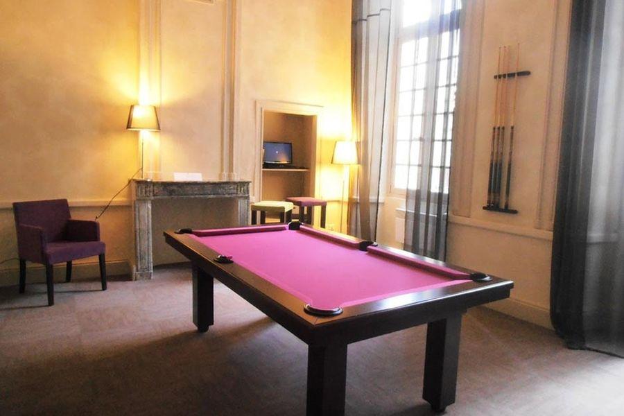 L'Hôtel Abbaye Ecole de Sorèze - Billard
