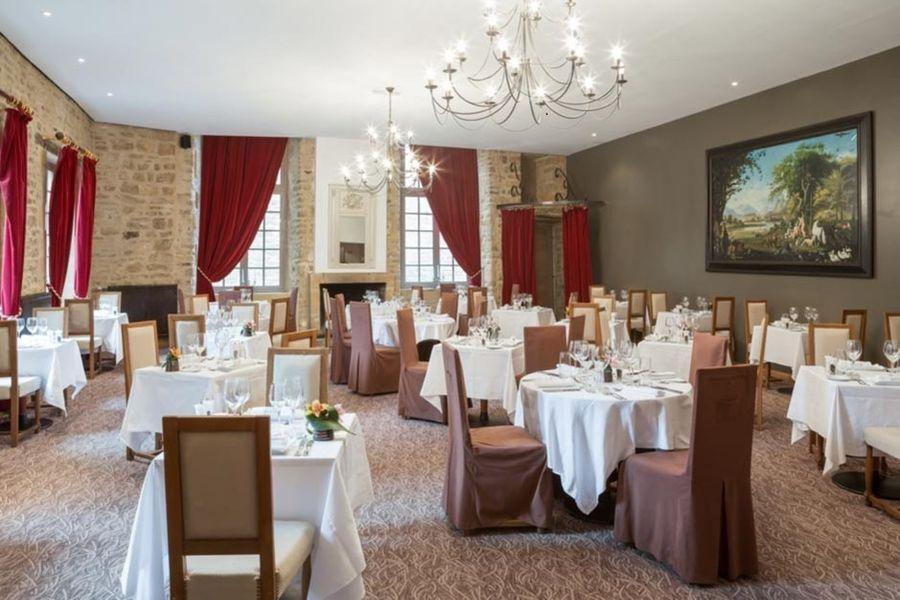 Hôtel Le Château Fort de Sedan - Salle de restaurant