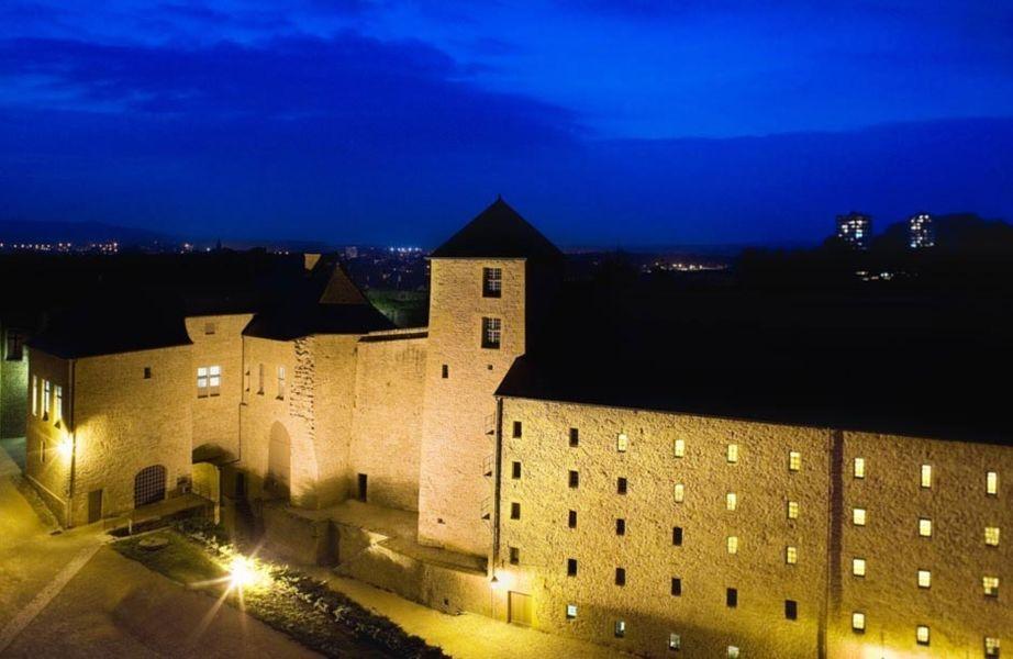 Hôtel Le Château Fort de Sedan - Vue aérienne