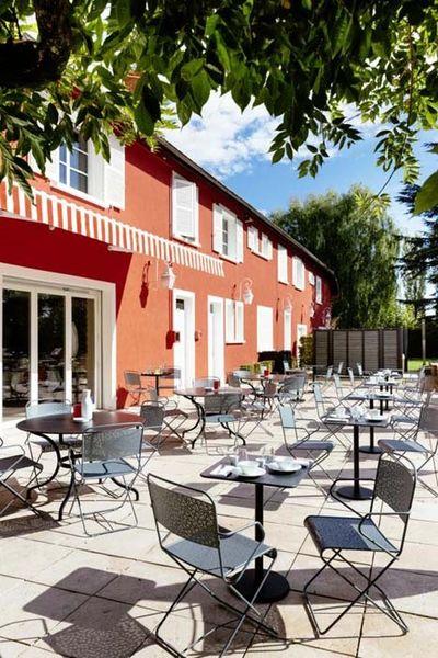 Les Maritonnes Parc & Vignoble - Terrasse