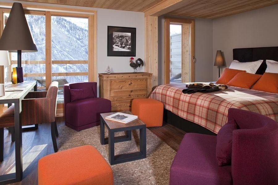 Hôtel & Spa L'Alta Peyra - Chambre