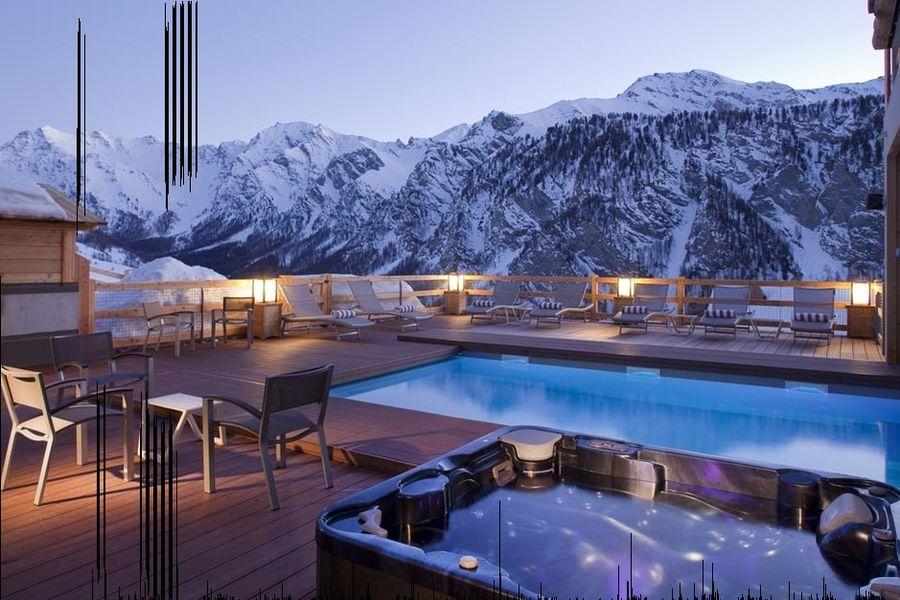 Hôtel & Spa L'Alta Peyra - Piscine extérieure