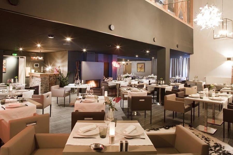 Hôtel & Spa L'Alta Peyra - Salle de restaurant