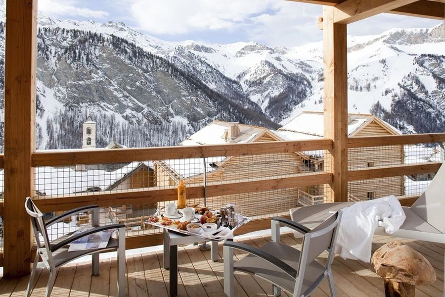 Hôtel & Spa L'Alta Peyra - Salle petit déjeuner