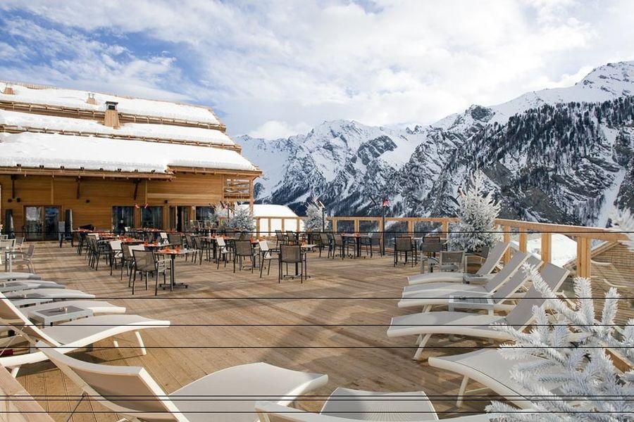 Hôtel & Spa L'Alta Peyra - Terrasse