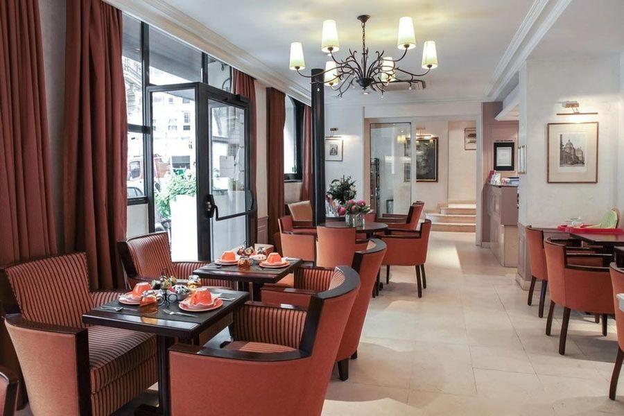 Hôtel Vaneau Saint Germain - Salle de restaurant