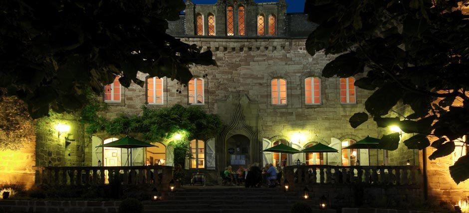 Château de Castel Novel - Extérieur