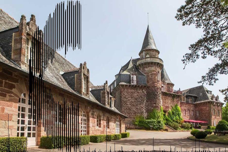 Château de Castel Novel - Façade 2