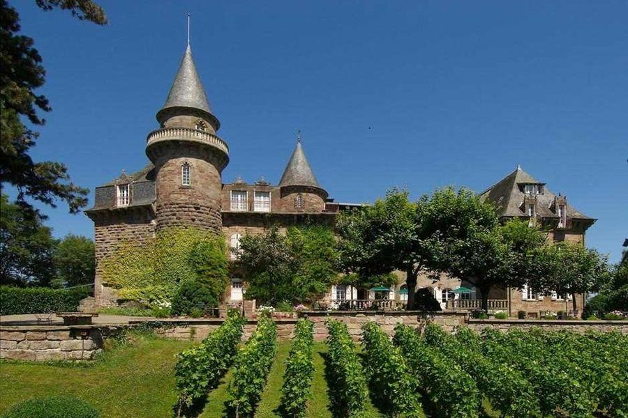 Château de Castel Novel - Façade