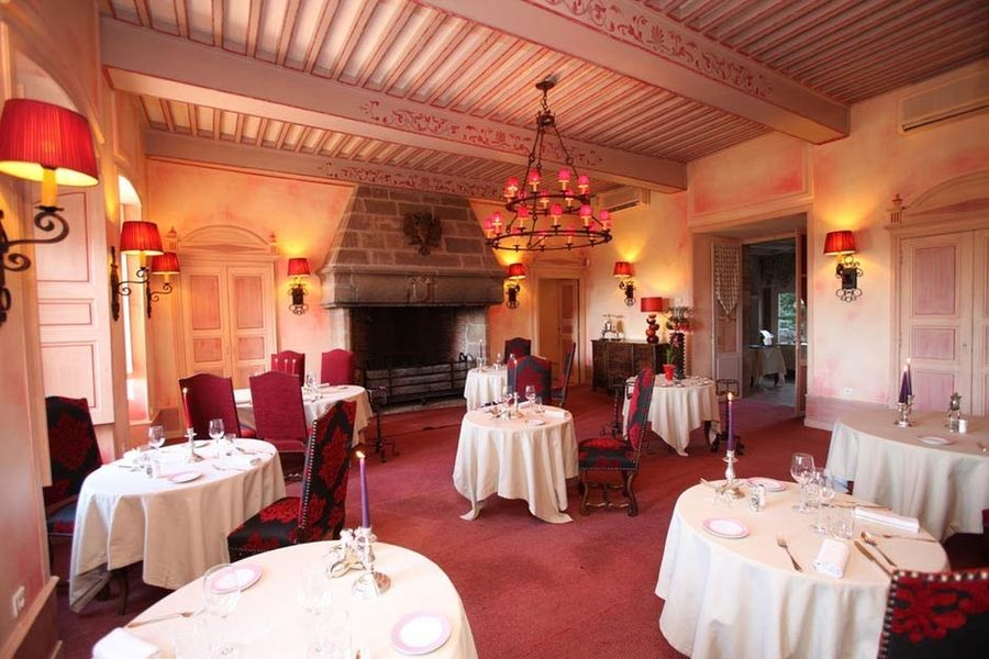Château de Castel Novel - Salle de restaurant