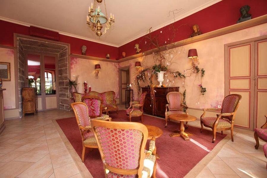 Château de Castel Novel - Salon