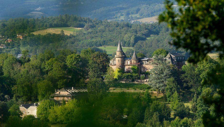 Château de Castel Novel - Vue d'ensemble