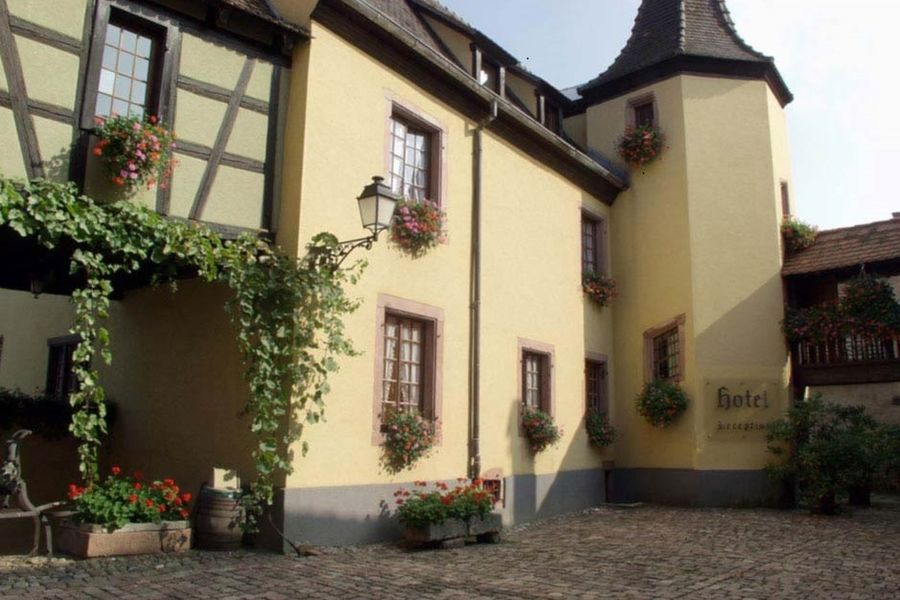 L'Abbaye d'Alspach - Vue d'extérieur