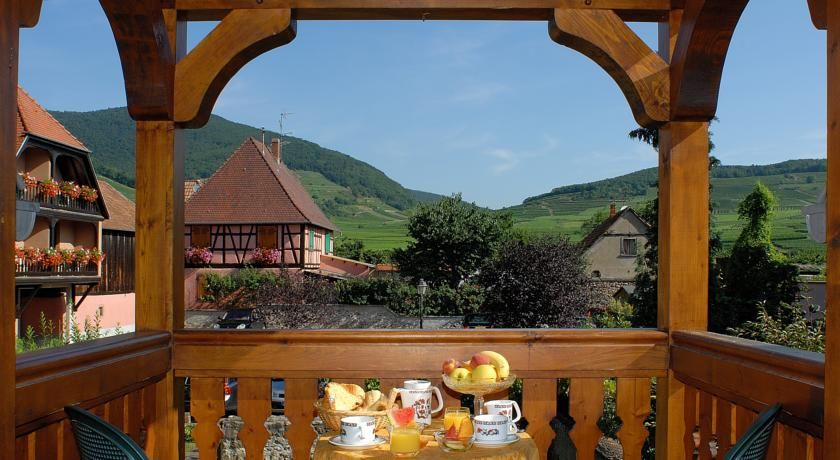 L'Abbaye d'Alspach - Vue imprenabke