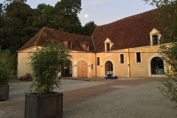 Domaine de Villeray & Spa - Cour intérieure