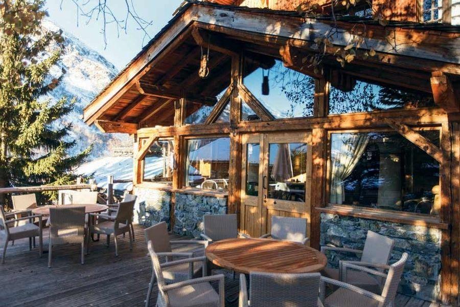 Hotel Restaurant La Bouitte - Terrasse