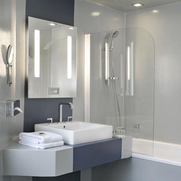 Hôtel Bassano - Salle de bain