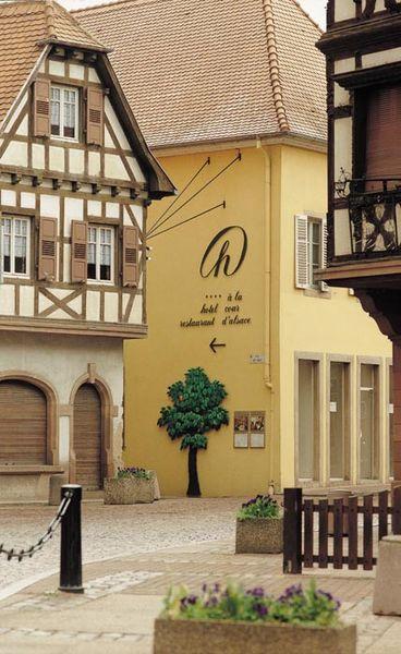 Hôtel À La Cour d'Alsace - Extérieur
