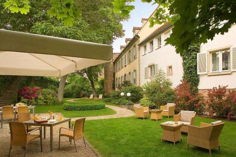 Hôtel À La Cour d'Alsace - Terrasse