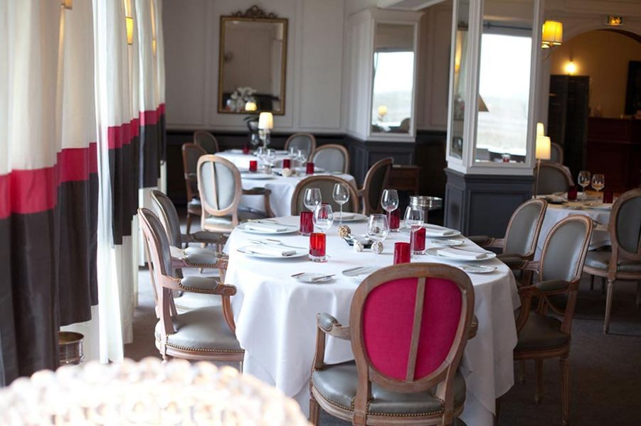 Ermitage de Corton - Salle de restaurant