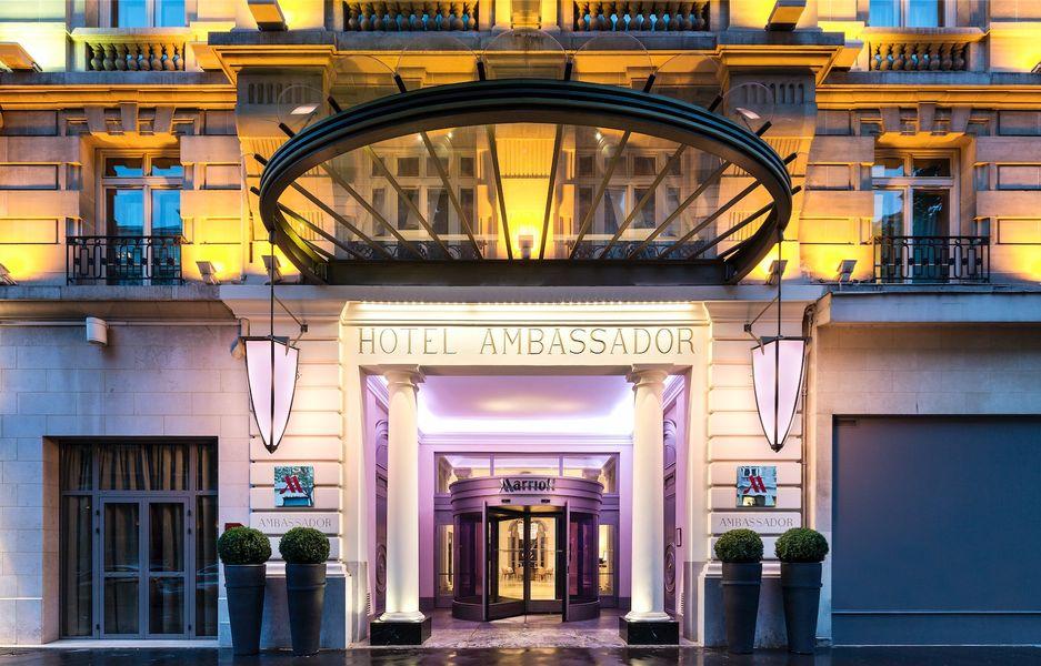 Paris Marriott Opera Ambassador Hotel **** - Entrée
