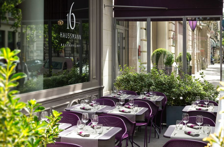 Paris Marriott Opera Ambassador Hotel **** - Terrasse