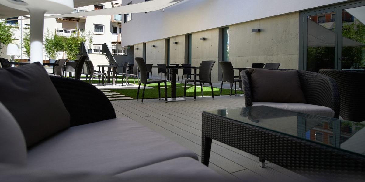 Hôtel Ici et Là - Terrasse