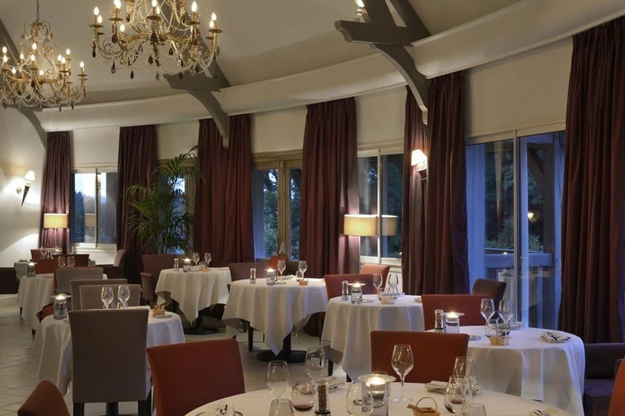 Les Manoirs de Tourgeville - Salle de restaurant