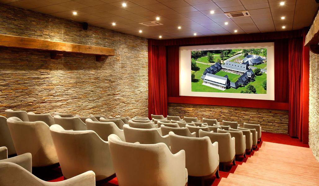 Les Manoirs de Tourgeville - Salle de cinéma