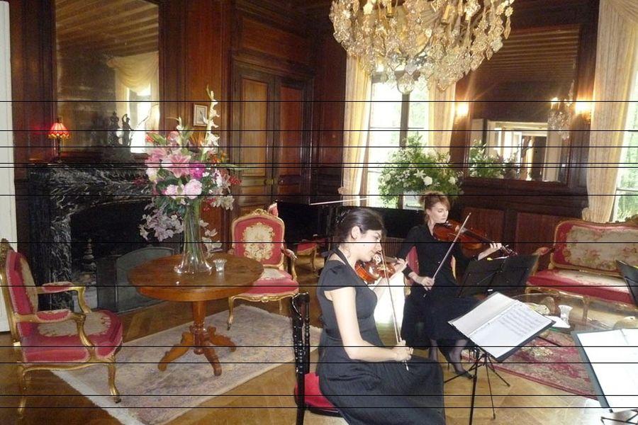 L'Hostellerie du Château les Muids - Concert