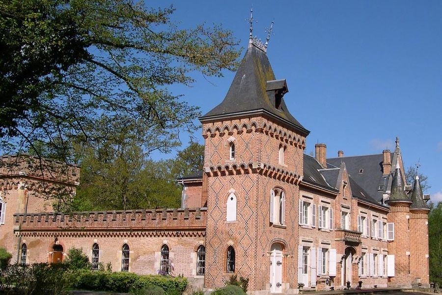 L'Hostellerie du Château les Muids - Extérieur 3