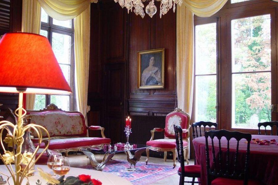 L'Hostellerie du Château les Muids - Grand Salon
