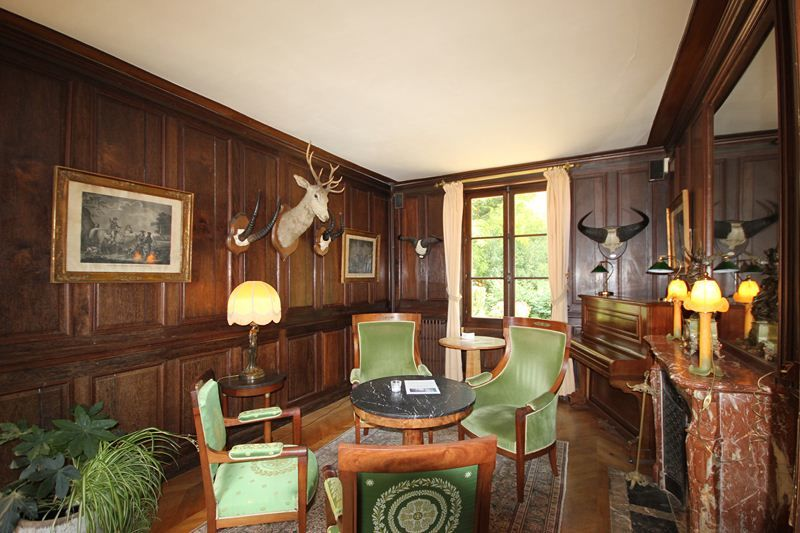 L'Hostellerie du Château les Muids - Petit Salon de chasse