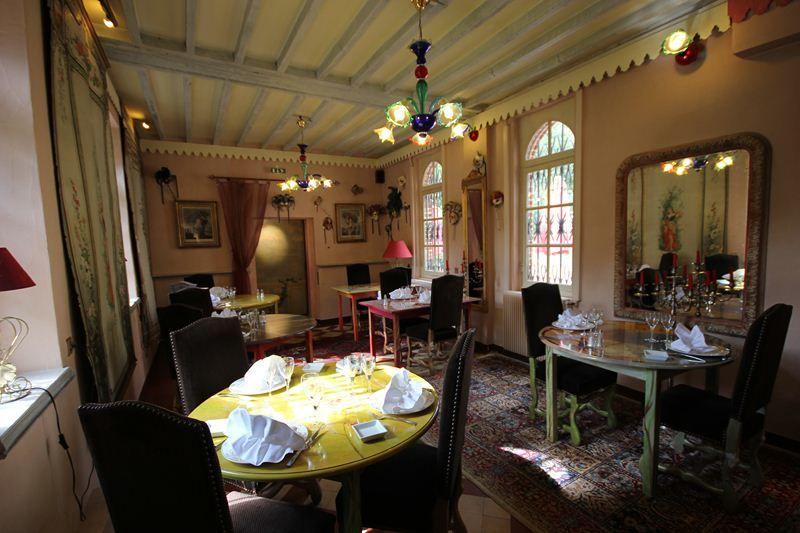 L'Hostellerie du Château les Muids - Salle à manger 2
