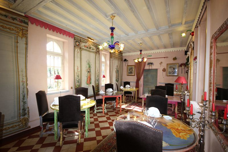 L'Hostellerie du Château les Muids - Salle à manger