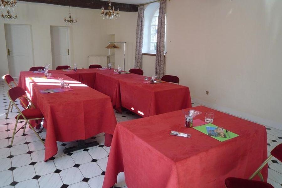L'Hostellerie du Château les Muids - Salle de réunion