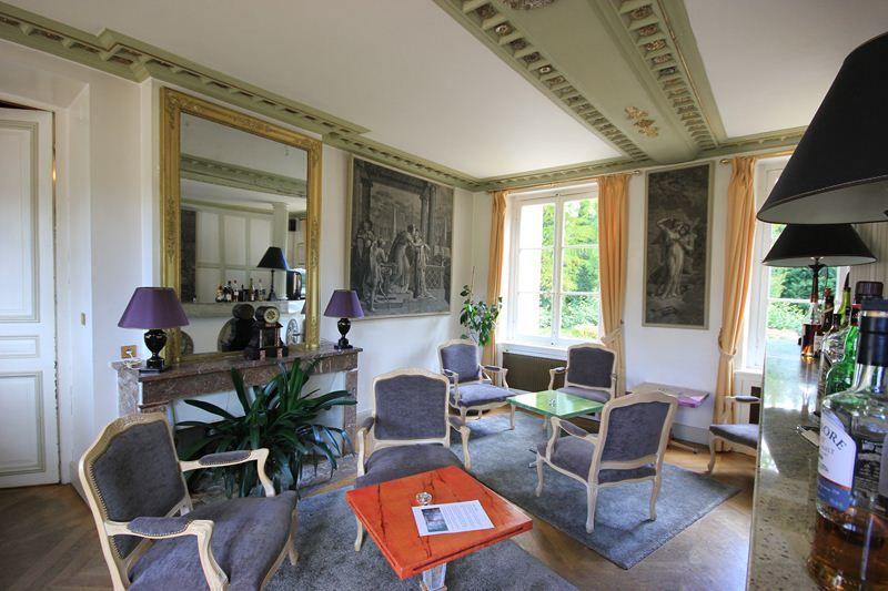 L'Hostellerie du Château les Muids - Salon bar