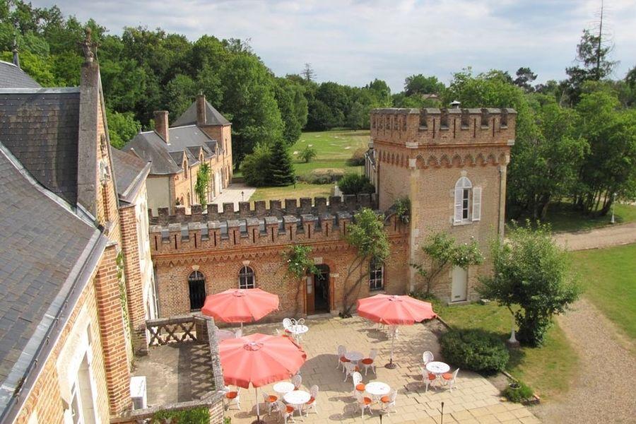 L'Hostellerie du Château les Muids - Vue d'ensemble