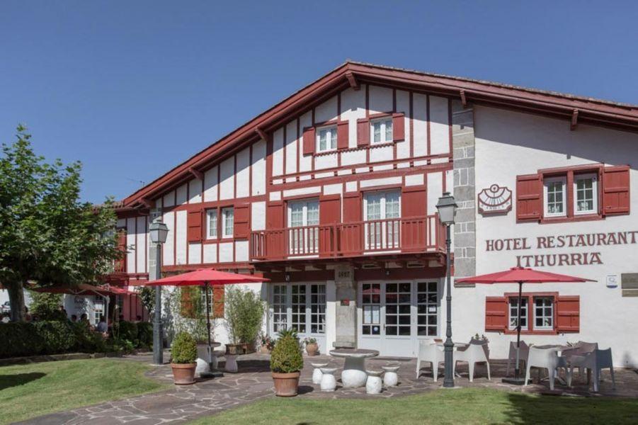 Hôtel Ithurria - Façade 2