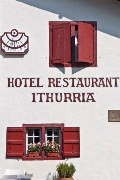 Hôtel Ithurria - Façade