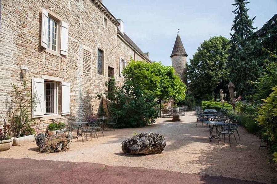 Château de Fleurville - Terrasse