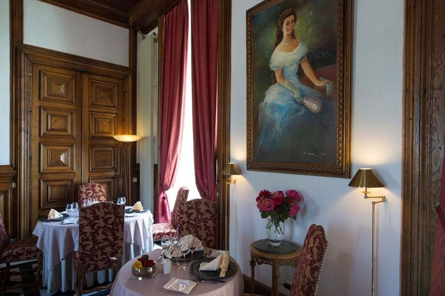 Château de Sissi - Salle de restaurant