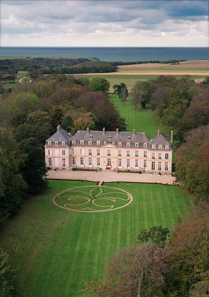 Château de Sissi - Vue aérienne
