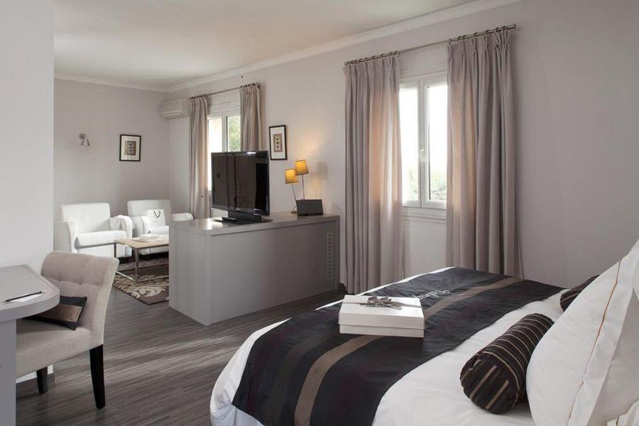 Hôtel Le Vallon de Valrugues & Spa - Chambre