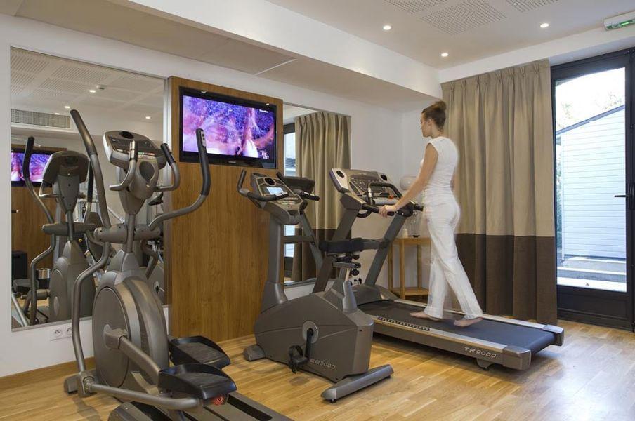 Hôtel Le Vallon de Valrugues & Spa - Salle de fitness